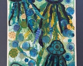Jellyfish Mixed Media Col...