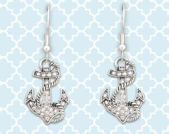 Anchor Earrings - 51098