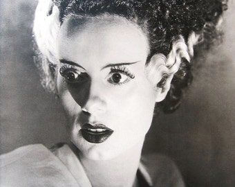 Wall Art, Poster Art, The Bride of Frankenstein, Elsa Lanchester 24 x 36 Poster