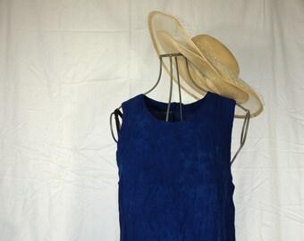 Dark Blue Vintage Dress
