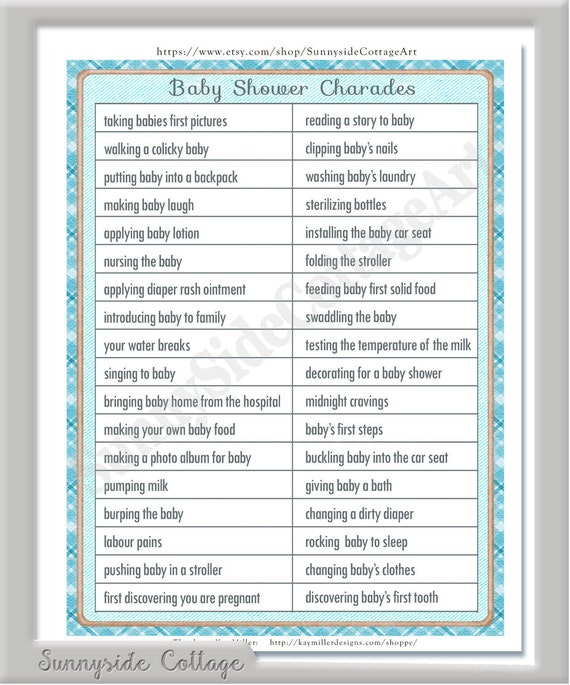 """Search Results For """"Printable Baby Shower Games"""