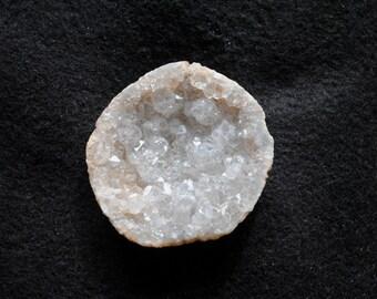 Clear Quartz Crystal Geode