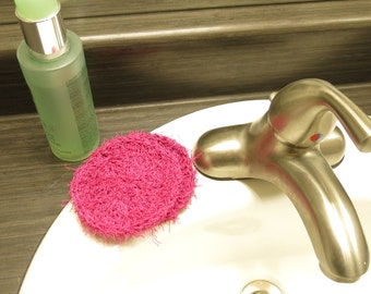 Facial/Dish Crochet Scrubbies Set
