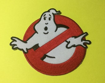 Iron on Sew on Patch:  Ghost busters