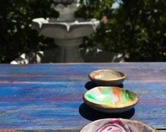 Polymer Clay Jewelry Bowls