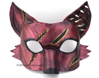 Scarred Fox with Spikes and Stitches