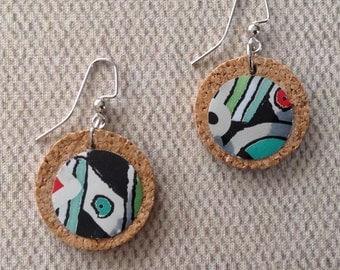 Reclaimed Aluminum Can Earrings/Diet Coke Earrings/Upcycled Recycled Earrings