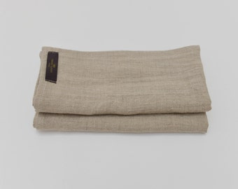 Washed Linen Natural Classic Napkin - Set of 2