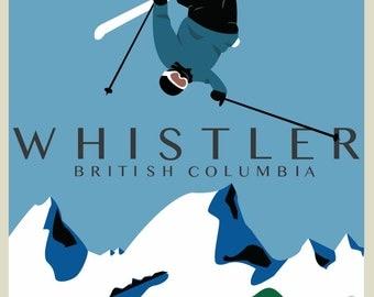Whistler Poster Ski