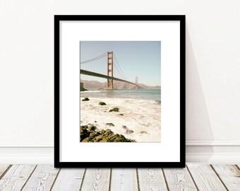 Golden Gate Bridge, San Francisco Photography, Bridge Photo, California, Landscape Photo, Fine Art Print, Vertical, Wall Art, Home Decor