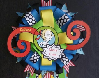 Dr. Seuss Baby Shower Mum/Corsage