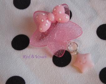 Star pin pink