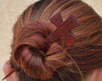 Wood Hair Pin, Wood Hair Accessories, Hair Barrette, Hair Stick, Barrette, Hair Pin, Slide, Wooden Shawl Pin,Hair Comb,Carvin, Haarstabg,