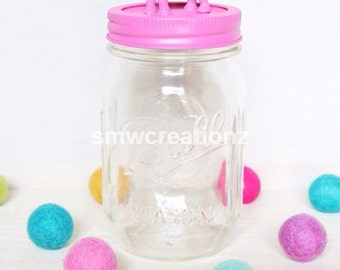 Custom Elephant Mason Jar- Mason Jars- Gifts