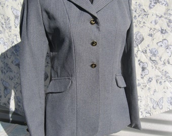 Riding Jacket,Grey Pin Stripped Hunt Coat  reduced from 50 to 30