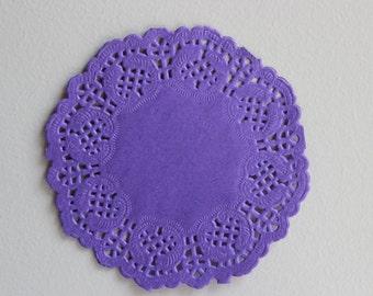 Paper Lace Doilies 9cm Round 10pcs