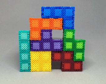 Tertis | 3D Perler | Puzzle | Home Decor | Game | Multiple Kits