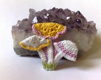 Crochet mushrooms Mushroom Applique Kids Clothing