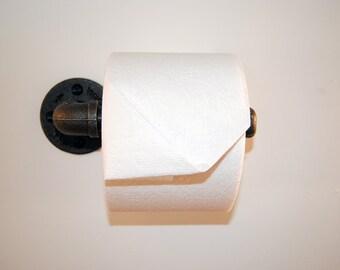 industrial toilet paper holder modern toilet paper holder cottage chic toilet paper holder - Bathroom Paper