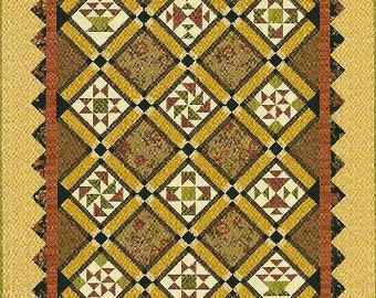 Ginger Rose Quilt Pattern - Shop Copy