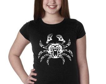 Girls Steampunk Crab Shirt 3710