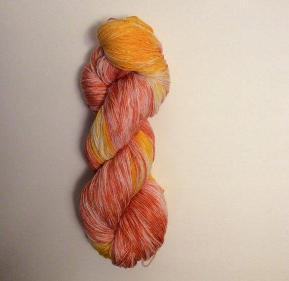 Hand Dyed Fingering Yarn