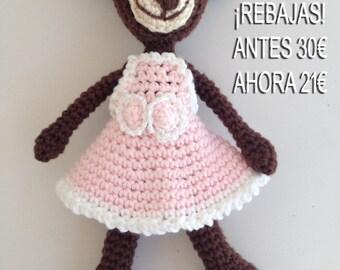 REBATES. Bear amigurumi for children and adults, 100% handmade.
