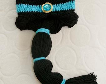 Aladdin-Inspired Jasmine Beanie Hat