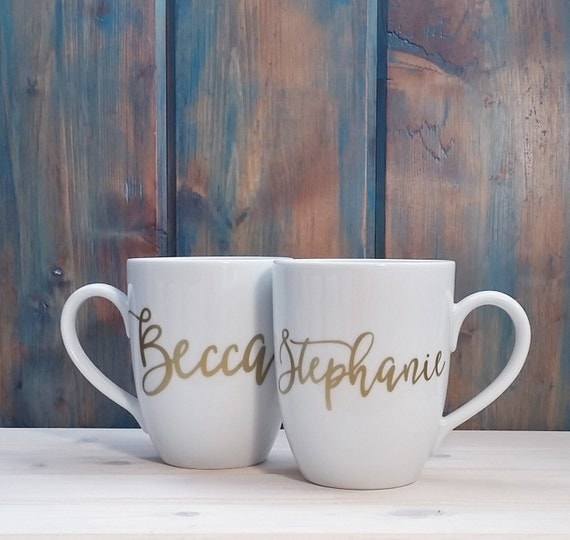 Customized Name Coffee Mug