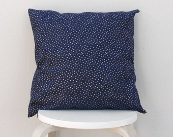 Gold Star pillow cover, Gold Navy Star Cushion Cover, 16X16
