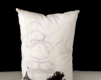But God I Like It - Silk-printed pillow