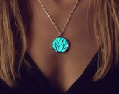 Glowing Necklace - Turquoise Necklace - Best Friend Jewelry - Statement Necklace - Bridesmaid Gifts - Glow in the Dark Necklace - Glow