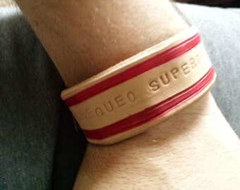 Phrase & Proverb Bracelets - 100% genuine leather handmade in the USA