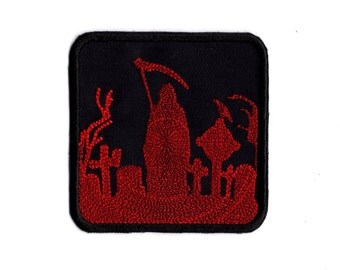 Reaper Gravesite  Patch Iron and or Sew on patch  M5
