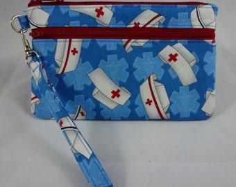 Nurse theme wristlet