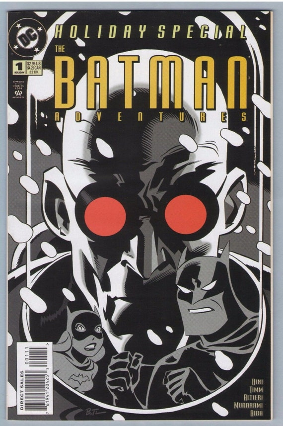 Batman Adventures Holiday Special 1 1995 NM- (9.2)