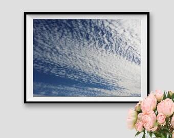 Clouds Print Sky Poster Sky Instant Download Photography Sky Art Clouds Fine Art Sky Decor Sky Overlay Clouds