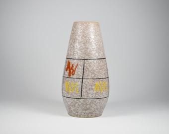 529 25 ceramic vase German FOREIGN Brown vase