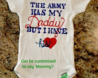 Army Daddy (or Mommy)