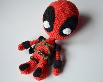Crochet PATTERN - superhero / villain pattern by Krawka
