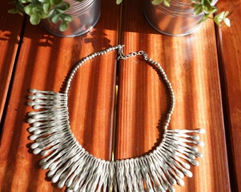 Sun Ray Statement Necklace
