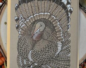 Hand - Embellished Turkey Card