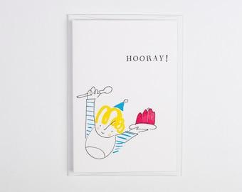 Little Prickle - Hooray Card