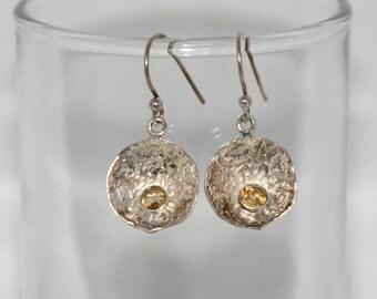 Earrings in 925 and semi-precious stones - unique Pieces, Ikanath creation
