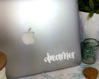 Dreamer -- Vinyl Laptop Decal