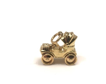 14 Kt. Yellow Gold Vintage Car Charm