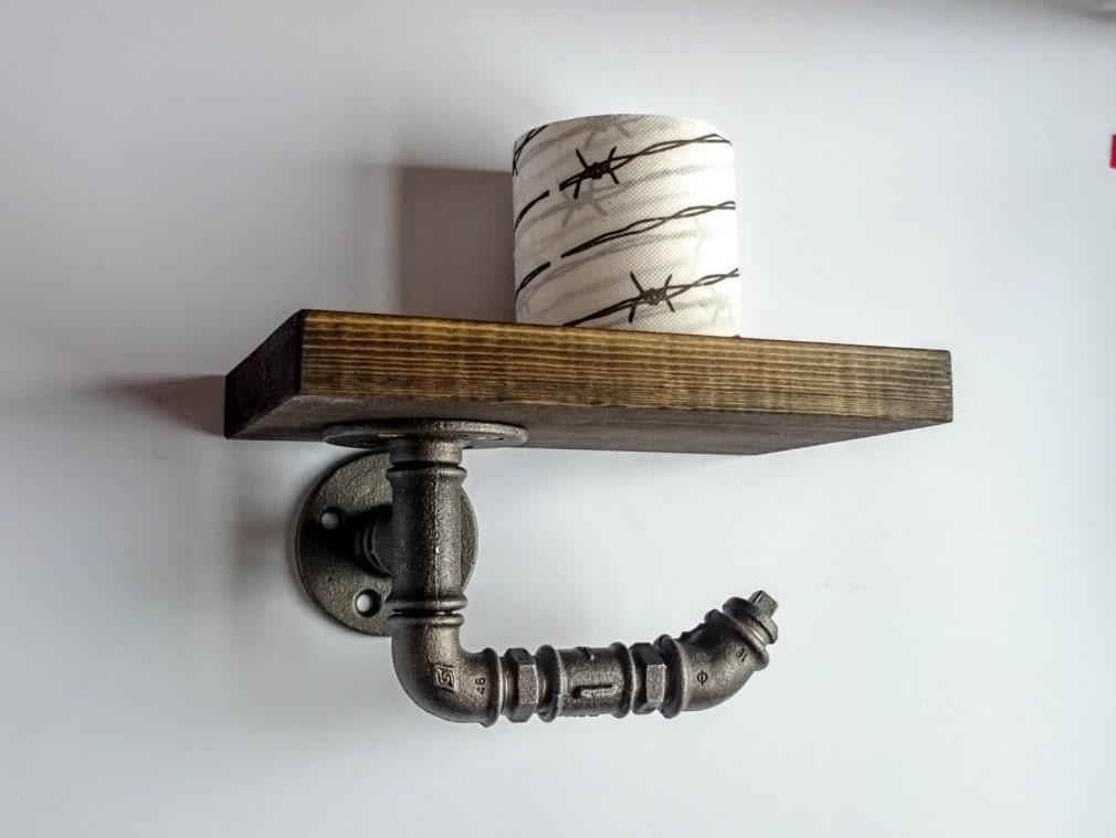 toilet paper holder with shelf toilet roll holder bathroom. Black Bedroom Furniture Sets. Home Design Ideas