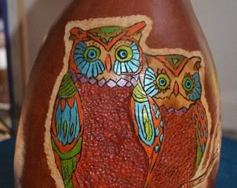 Owl Gourd