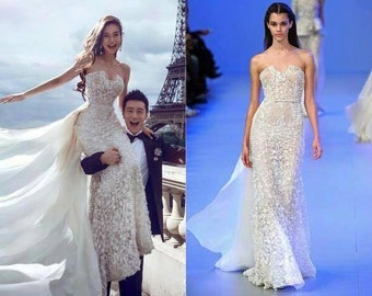 Angela Baby Elie Saab wedding dress