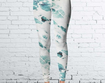 Foaming Ocean Leggings